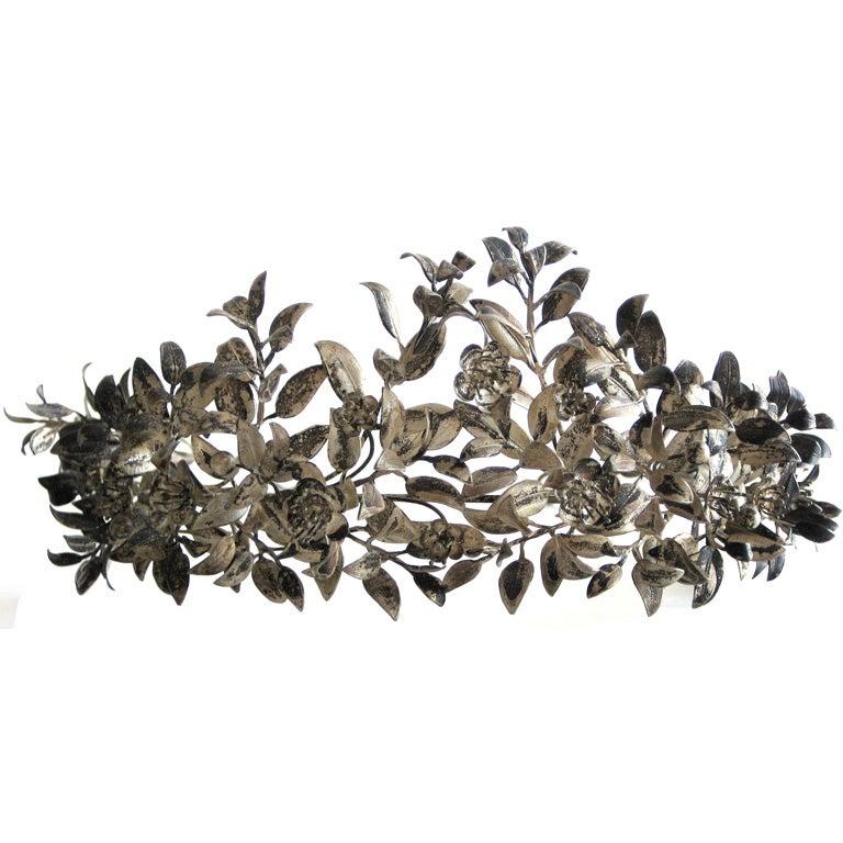 Victorian Silver Wedding Tiara  1
