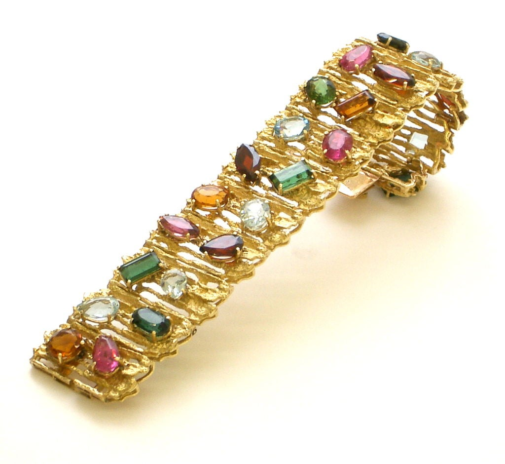 Women's Gold and Multi-colored Stone Bracelet by H. Stern