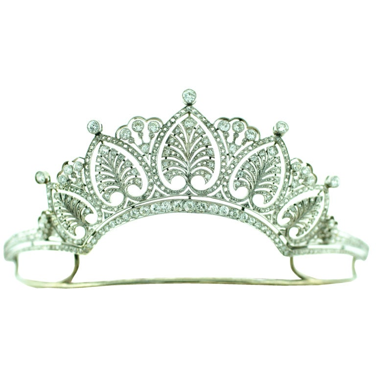 Diamond & Platinum Tiara 1