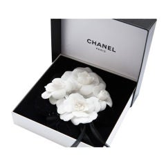 Chanel Camillia Flower Cluster Pin