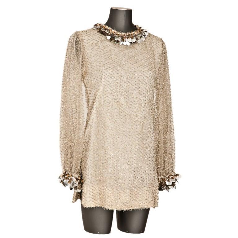 "Belinda Bellville  60's ""Eyelash"" Mini dress. 1"