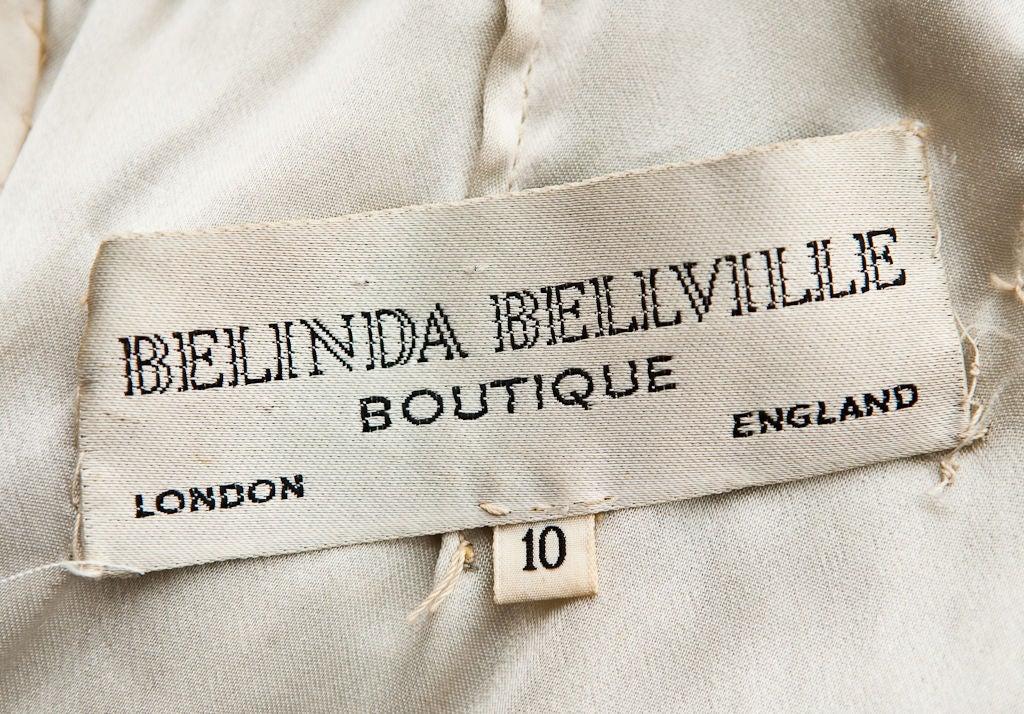 "Belinda Bellville  60's ""Eyelash"" Mini dress. 2"