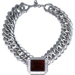YSL Ruby Biker Collar