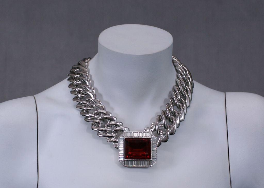 YSL Ruby Biker Collar 4