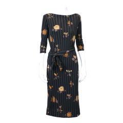 Ken Scott Silk Jersey Dress
