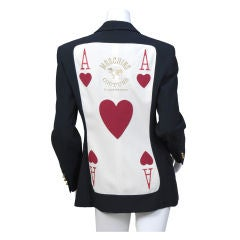 Moschino Ace of Hearts Jacket