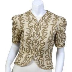 1930's Beaded Jacket