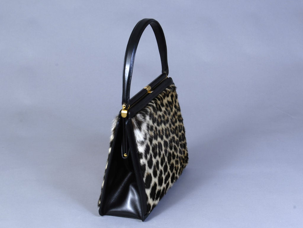 "Leather & ""Leopard"" Bag 2"