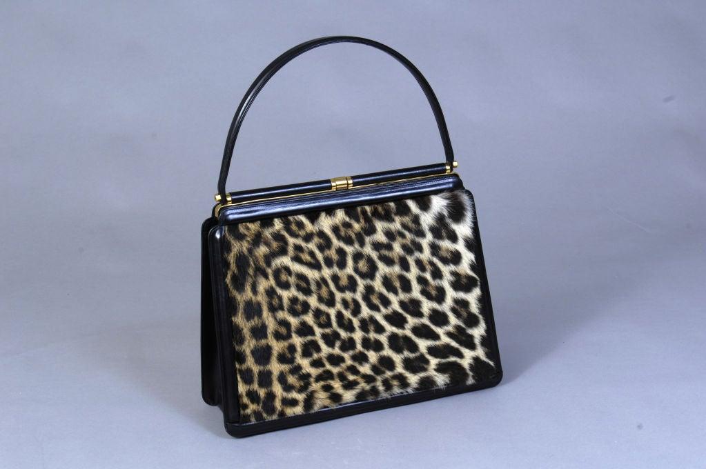 "Leather & ""Leopard"" Bag 3"