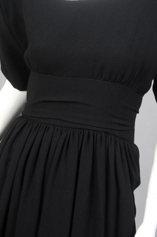 Norman Norell Pouf Dress at 1stdibs