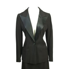 """Yves St Laurent """"Le Smoking"""" Dinner Suit"""
