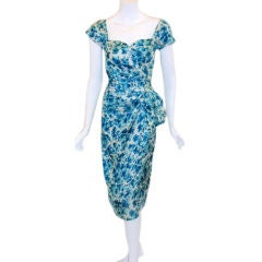 Dorothy O'Hara Sexy Little Floral Cocktail Dress