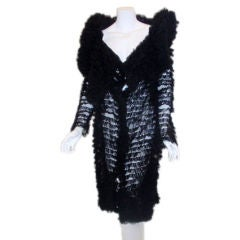 Callaghan Ruffled Tulle Evening Coat