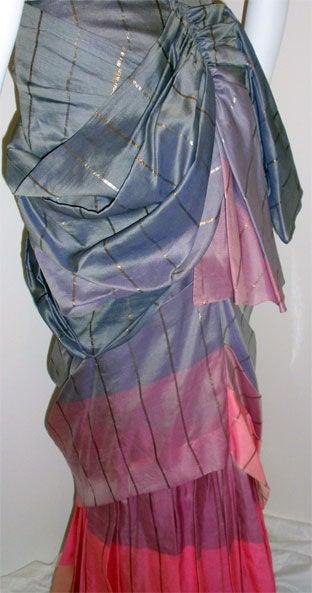 Adrian Original, One sleeved gown, Circa 1940s, Theodora Getty 8