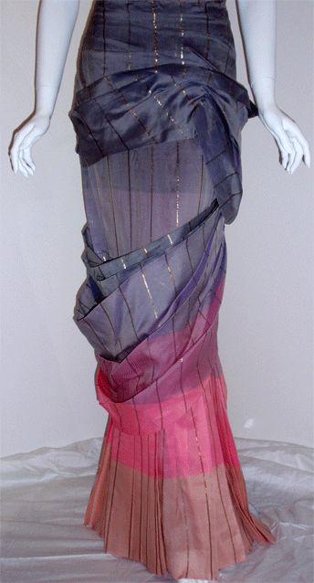 Adrian Original, One sleeved gown, Circa 1940s, Theodora Getty 7
