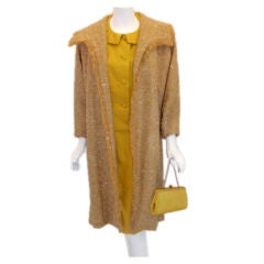 Don Loper four-piece day ensemble with matching purse