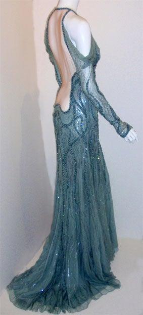 Atelier Versace Gown Melanie Griffith Academy Awards