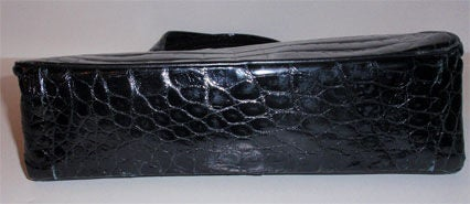 Pretty Crocodile handbag by Sacha, Paris image 7