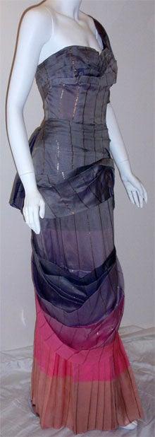 Adrian Original, One sleeved gown, Circa 1940s, Theodora Getty 3