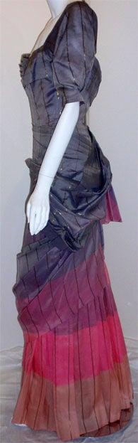 Adrian Original, One sleeved gown, Circa 1940s, Theodora Getty 4