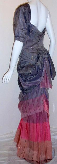 Adrian Original, One sleeved gown, Circa 1940s, Theodora Getty 5