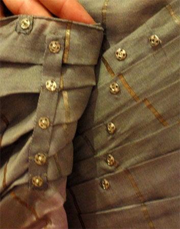 Adrian Original, One sleeved gown, Circa 1940s, Theodora Getty 10