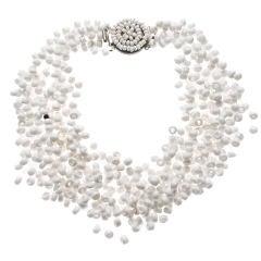 White Langani Necklace