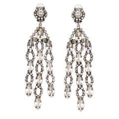 Kenneth Jay Lane Early Chandelier earrings