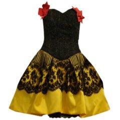 Christian Lacroix Haute Couture Pouf Dress
