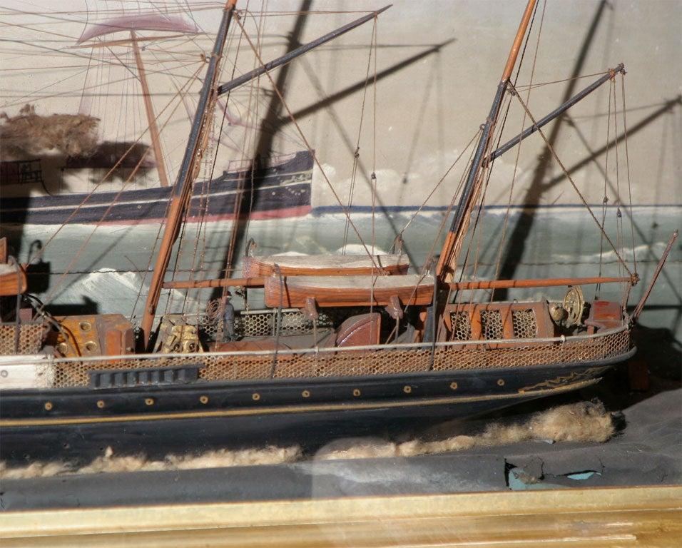 Ship Shadow Box Diorama For Sale 2