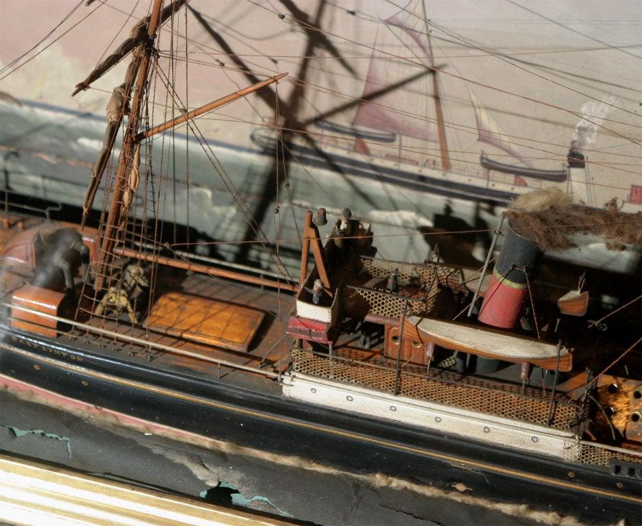 Ship Shadow Box Diorama For Sale 5