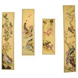 A Graduated Set of Monumental Custom Chinoiserie Panels