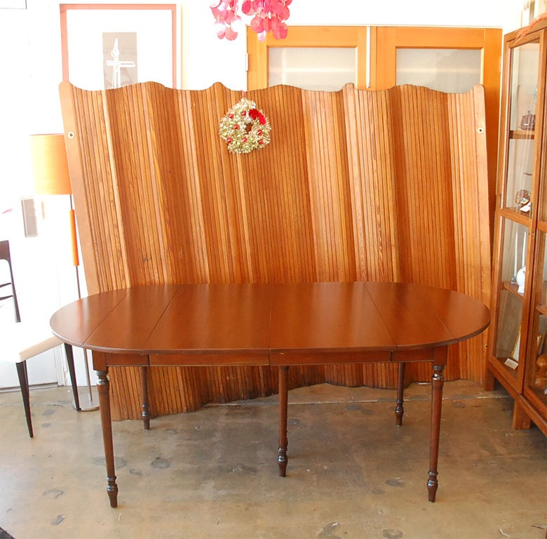 rare cherry dining table by pennsylvania house at 1stdibs