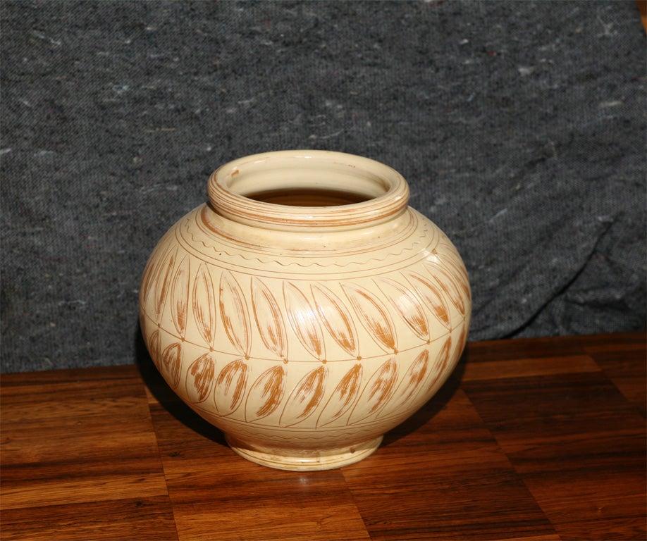 large vase from kaehler keramik fabrik for sale at 1stdibs. Black Bedroom Furniture Sets. Home Design Ideas