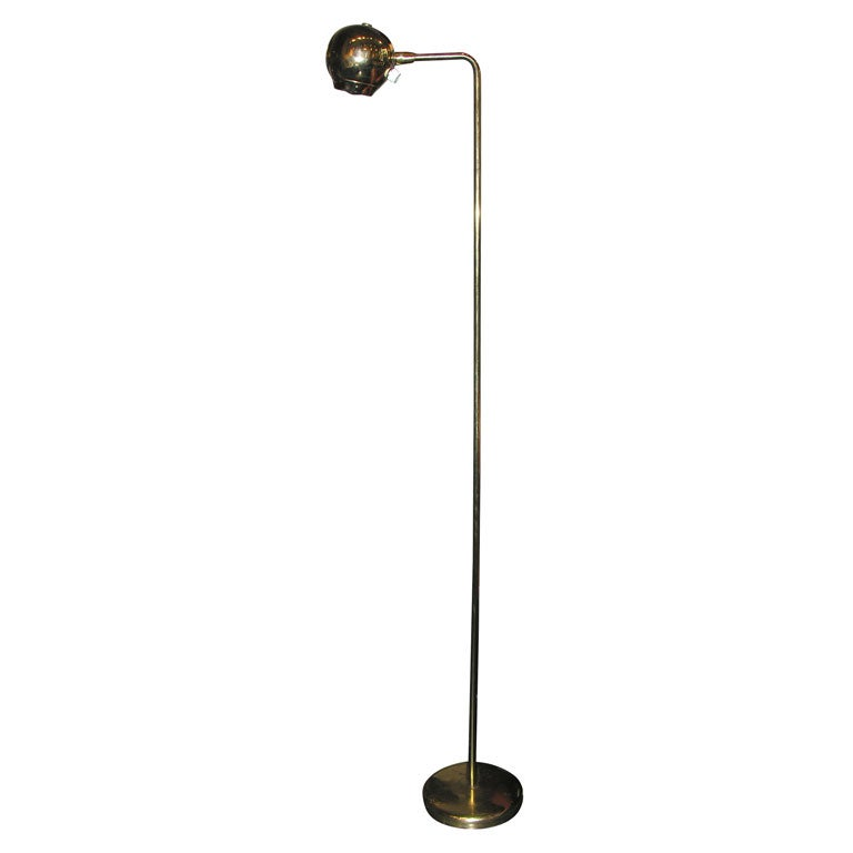 Eyeball floor lamp in brass by kovacs lighting at 1stdibs eyeball floor lamp in brass by kovacs lighting for sale aloadofball
