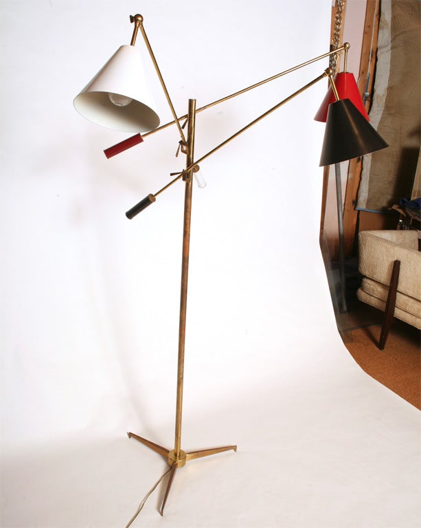 Early version of the Arredoluce Triennale Floor lamp<br />