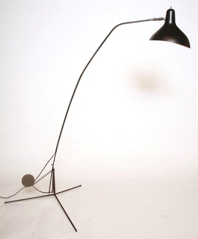 German Bernard Schottlander Floor Lamp