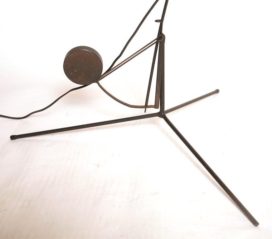 Metal Bernard Schottlander Floor Lamp