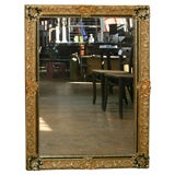 Painted and Gilt Louis XIV Style Mirror