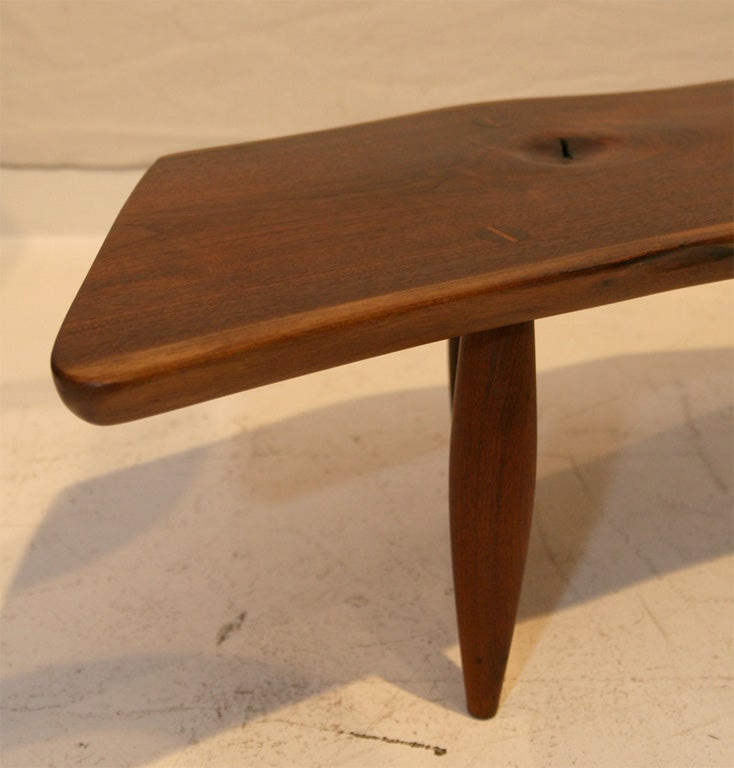 Walnut Coffee Table By Phillip Lloyd Powell At 1stdibs