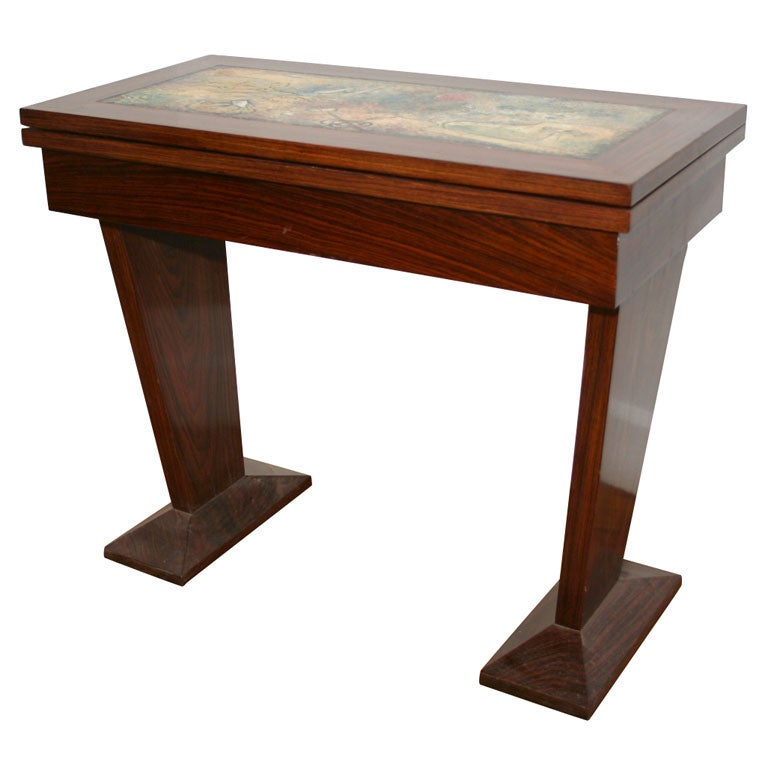 Art deco game table at 1stdibs for 11 in 1 game table