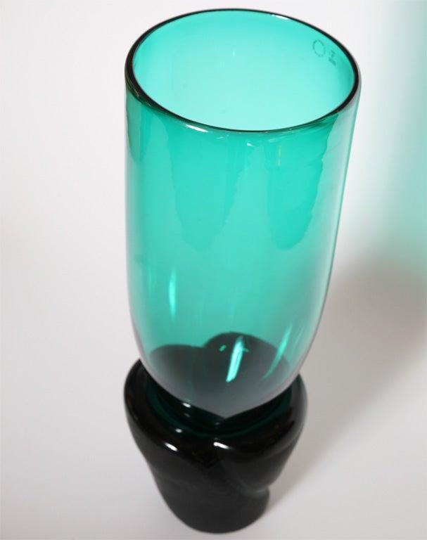 "Monumental Venini Murano Glass Vessel ""Munchen"" Laura Diaz de Santillana 6"