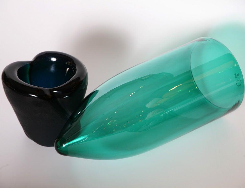 "Monumental Venini Murano Glass Vessel ""Munchen"" Laura Diaz de Santillana 7"