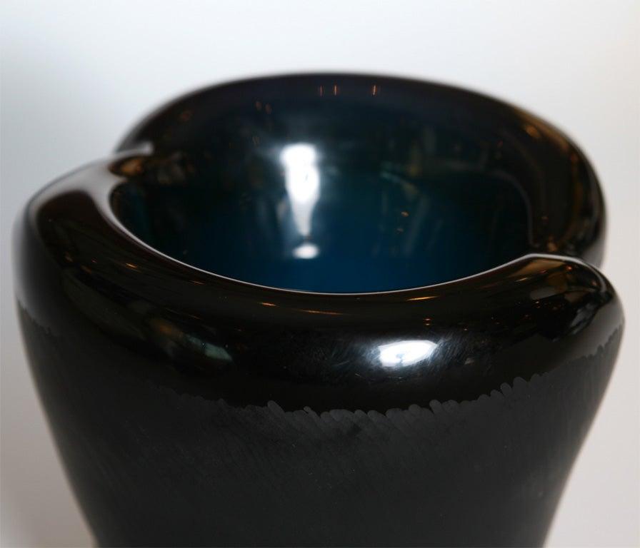 "Monumental Venini Murano Glass Vessel ""Munchen"" Laura Diaz de Santillana 10"