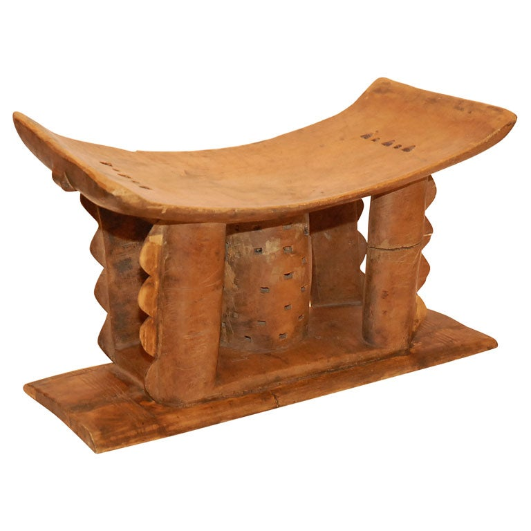 Early 20th Century Tribal Stool At 1stdibs