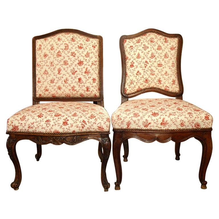 Regency Side Chairs 1