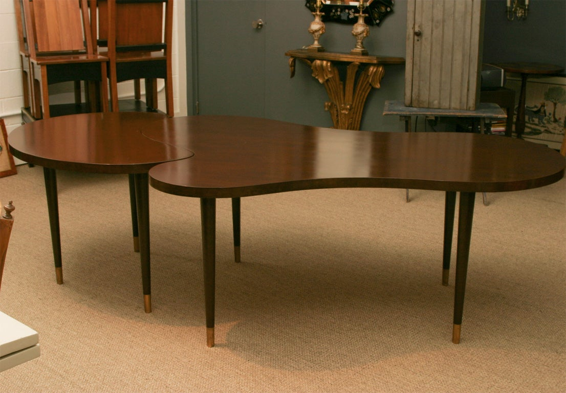 Walnut Dining Table With Extension At 1stdibs