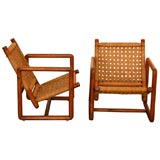 French Rope Club Chairs