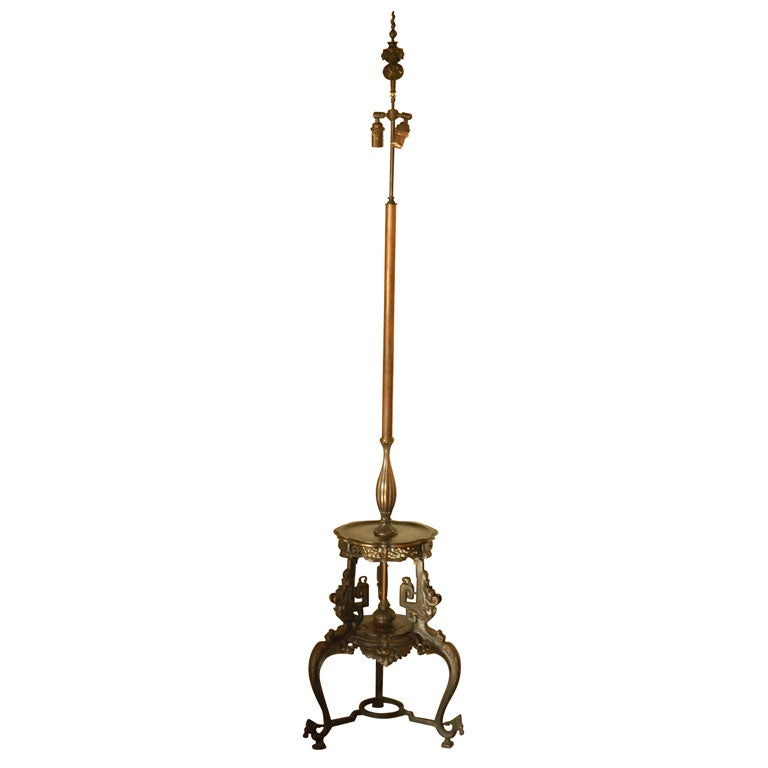 Bronze Floor Lamp 1