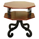 Octagonal Danish Rosewood Table